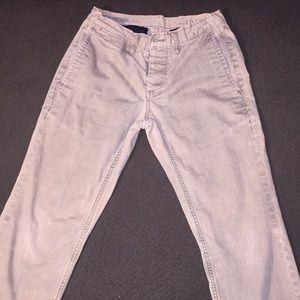 Men's gap jeans, khaki color 28x30